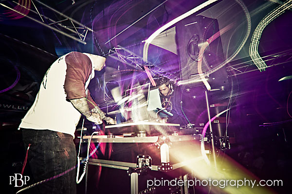 kansas city dj/club photography by patrick binder